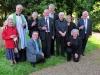 Mitford, Sunday 2 June, the start of celebrations (after Evensong).